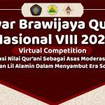 Gebyar Brawijaya Qur'ani Nasional VIII 2021